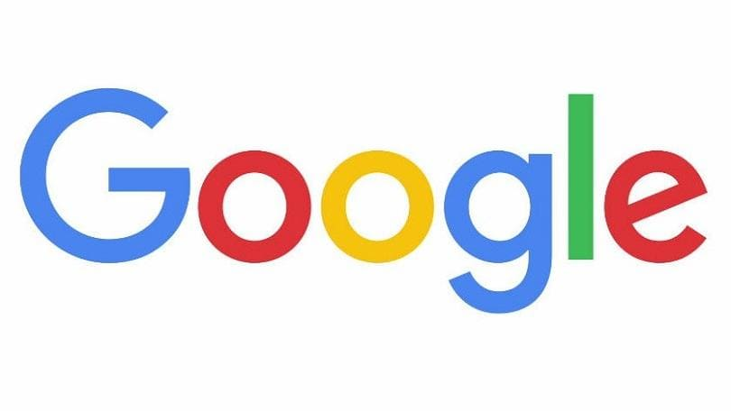 Google logo of colored letters