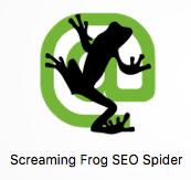 Screaming Frog spider crawler logo