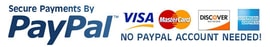 Order now - Most major credit cards accepted through PayPal