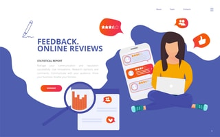 create a reviews page on your website and embed 1st & 3rd party reviews