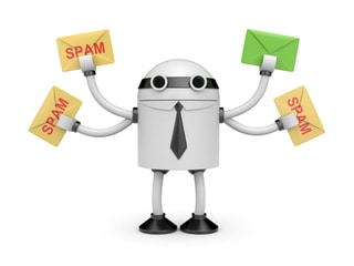 filter spam bots in analytics & ask host to block