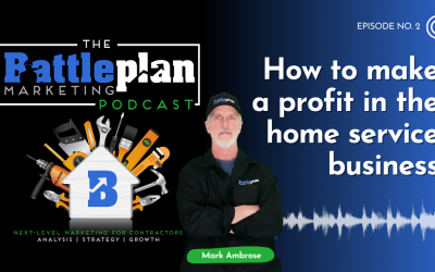 How to make a profit in the home service business?