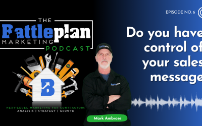 Do you have control of your sales message?