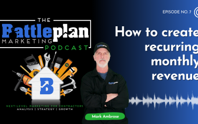 How to create recurring monthly revenue?