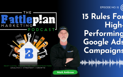 15 rules for high-performing Google ads campaigns