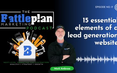 15 essential elements of a lead generation website