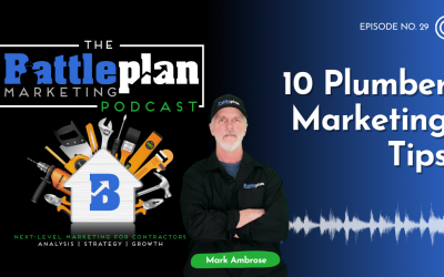 10 Plumber Marketing Tips