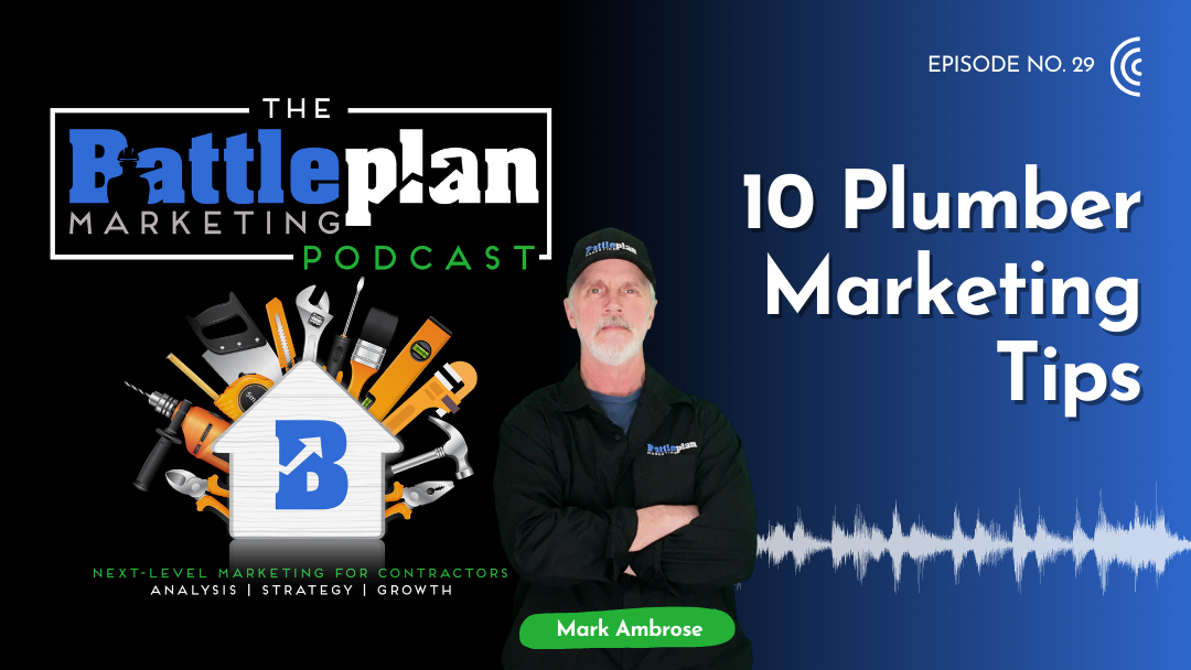 10 Plumber Marketing Tips Featured image