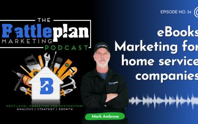 eBooks Marketing for home service companies