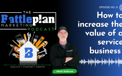 How to increase the value of a service business