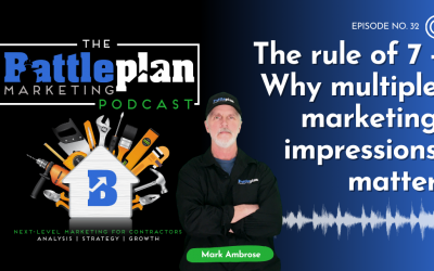 The Rule of 7 – Why multiple marketing impressions matter