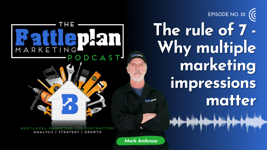 The Rule of 7 - Why Multiple Marketing Impressions Matter Featured image