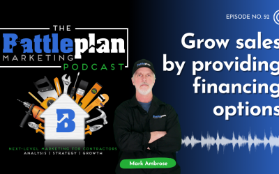Grow sales by providing financing options