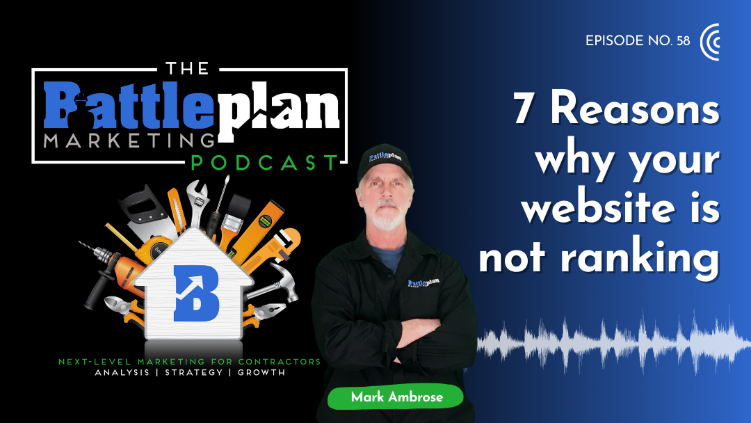7 Reasons why your website is not ranking