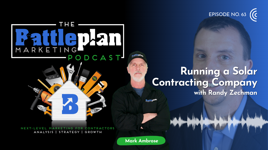 Running A Solar Contracting Company with Randy Zechman Featured image