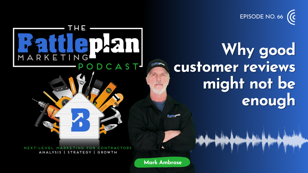 Why good customer reviews might not be enough
